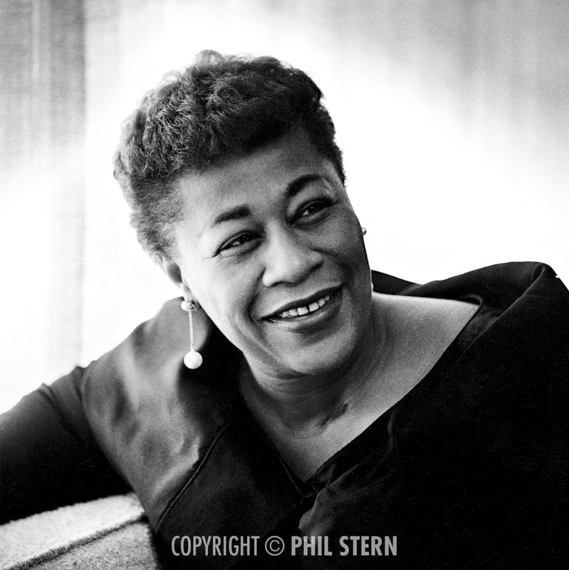 Phil Stern's Archives � Ella Fitzgerald
