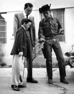 Frank Sinatra, Jr., Frank Sinatra, and Sammy Davis, Jr., 1955