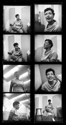 Billie Holiday recording the album Music for Touching, August 25, 1955.