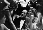 Lauren Bacall, Humphrey Bogart, and Rocky Cooper, mid 1950s