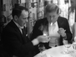 Sinatra lighting John F. Kennedy's cigarette
