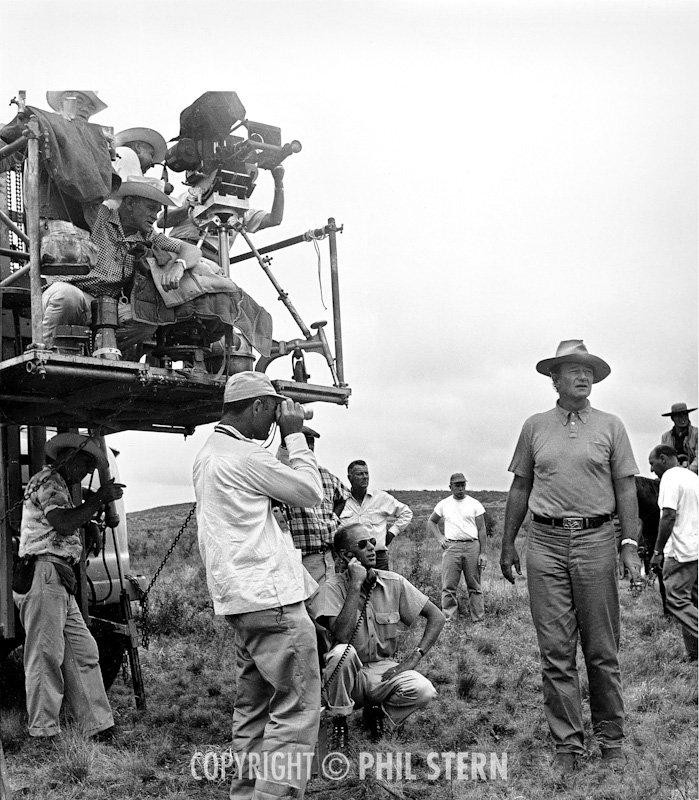 Phil Stern\'s Archives » John Wayne