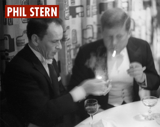 Sinatra and JFK