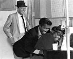 Frank Sinatra, Sammy Davis, Jr., and Count Bassie, mid 1950s