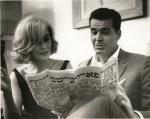 Jean Simmons and James Garner on Mr. Buddwing, 1966